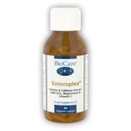 Enteroplex sisaldab deglütseriniseeritud lagritsa- ning kapsaekstrakti kombineerituna tsingi, magneesiumi ning C-vitamiiniga. Lagrits on traditsiooniline toiduaine, mida on kasutatud sajandeid seedesüsteemi toetamiseks.