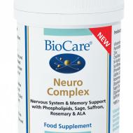 BioCare toidulisand 60 taimset kapslit/Netokogus: 37 g Toidulisand närvisüsteemi talitluse ja mälu toetuseks fosfolipiidide, salvei, safrani, rosmariini ja alfalipoehappega. Vitamiin C aitab kaasa närvisüsteemi normaalsele talitlusele Tsink ja vitamiin B5 aitavad kaasa normaalsele kognitiivsele talitlusele ja vaimsele jõudlusele Sharp-PS® eksrakt on saadud päevalilleletsitiinist, mitte sojast nagu tavapärased preparaadid KASUTUSJUHISED Üks kapsel kaks korda päevas koos […]