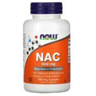 N-atsetüültsüsteiin (NAC) on võimas antioksüdant ja suurepärane toetus maksaprobleemide või maksakahjustuste korral. Rohkelt NAC-i leidub ka ajus ja kopsukudedes, tegu on olulise respiratoor- ja immuunsüsteemi toetajaga. NAC-i hea tase on tähtis neuroloogiliste funktsioonideks, hea mälu ning kognitiivse võimekuse jaoks.  NAC on ka keha võimsaima rakusisese antioksüdandi glutatiooni eelaine. Vanusega glutatiooni tase langeb ning tõuseb oksüdatiivse stressi tase.  NB! NAC on atsetaminofeeni üledoosist (tuntud valuvaigistite Tylenol and Vicodin tarvitamisest) põhjustatud maksakahjustuse ravis tõhus toetaja. Seleen on tuntud viiruste- ja vähivastane mineraal, mille on oluline roll maksa detoksiradade toetamisel. Molübdeen aitab kaitsta rakkude energiakeskuseid ning toetada organismi histamiini ainevahetust.  Toode ei sisalda piima, muna, koorikloomi, pähklit, maapähklit ja kunstlikke värvaineid. Tarvitamine: 1 kapsel 2 x päevas koos toidu ja rohke veega. Kapslis 600 mg N-atsetüültsüsteiini, 25 mcg selenometioniini ja 50 mcg molübdeeni.